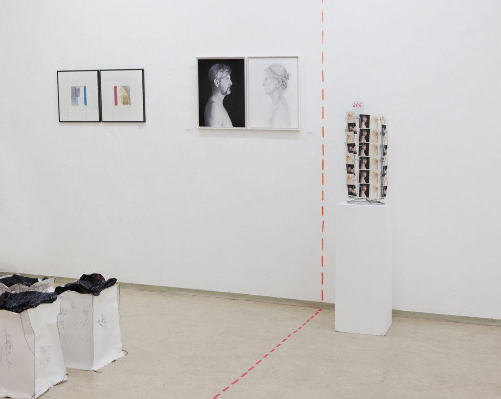 Ausstellungsansicht im gedächtnis 2 Gemeinschaftsprojekt Billensteiner Renate und Gerhard Brandl