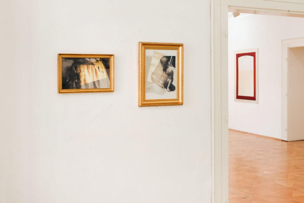 Ausstellungsansicht sub rosa in der Galerie Forum Wels Renate Billensteiner Foto 07