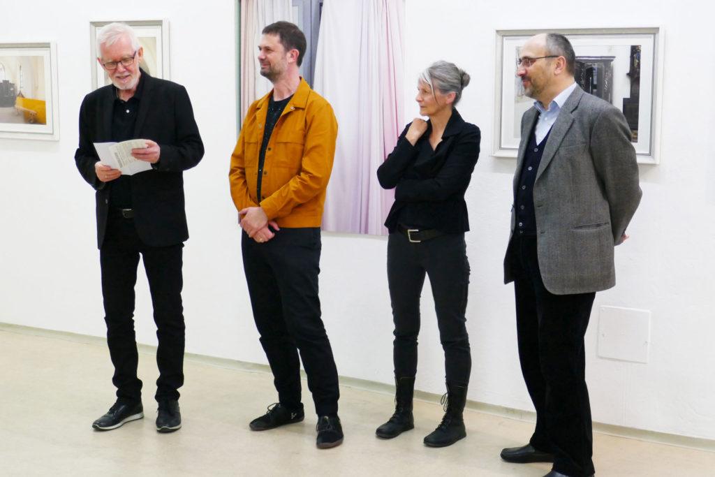 Ausstellungseröffnung sub rosa Renate Billensteiner