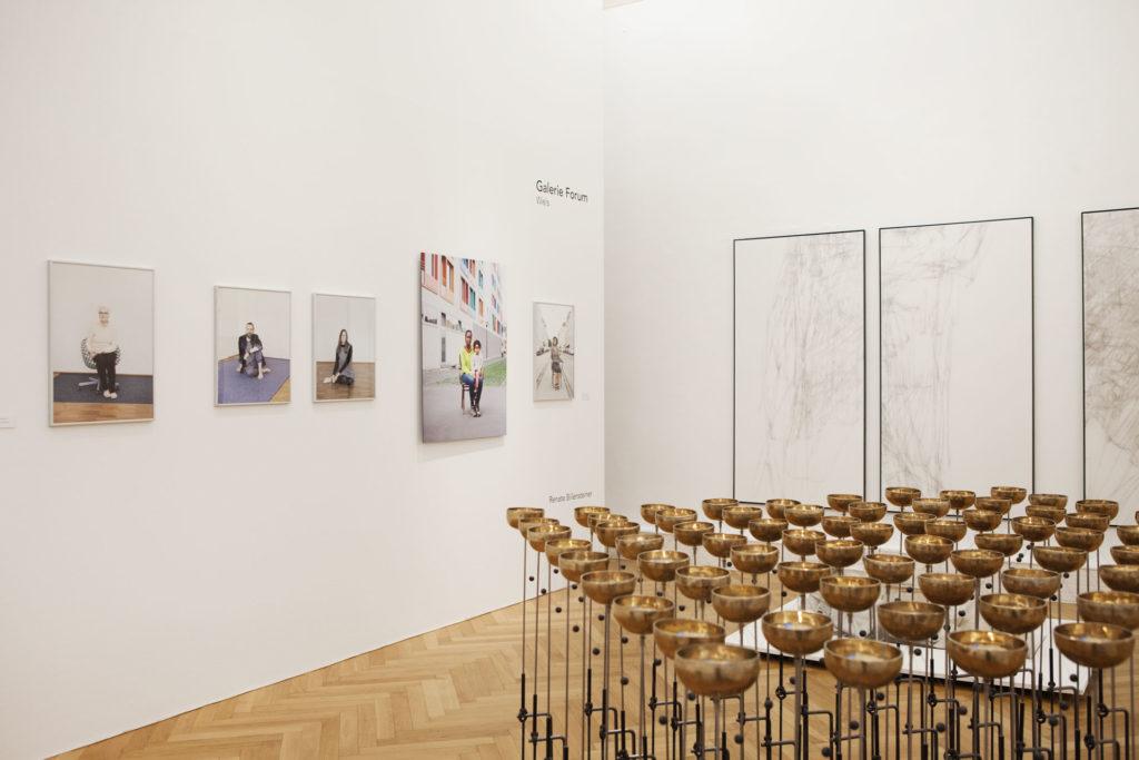 Ausstellungsansicht Kunstsalon Landesgalerie Linz Renate Billensteiner