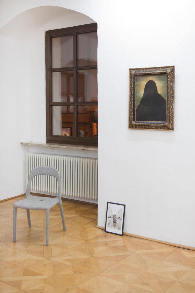 Ausstellung in der Galerie Forum Wels fruchtbare Halbmonde Renate Billensteiner
