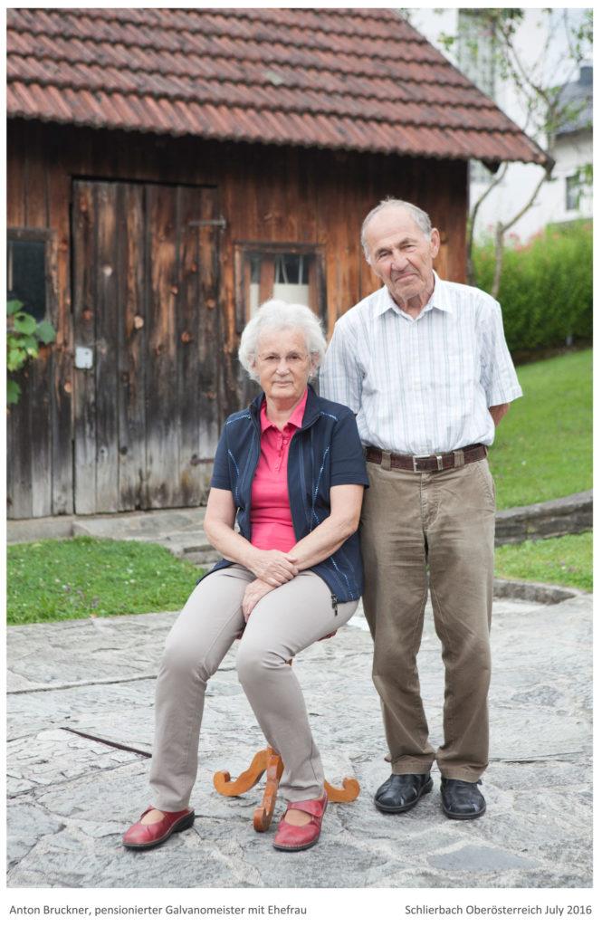 Bruckner Anton und seine Ehefrau Projekt von Renate Billensteiner Bild 02