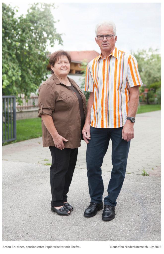 Bruckner Anton und seine Ehefrau Projekt von Renate Billensteiner Bild 01