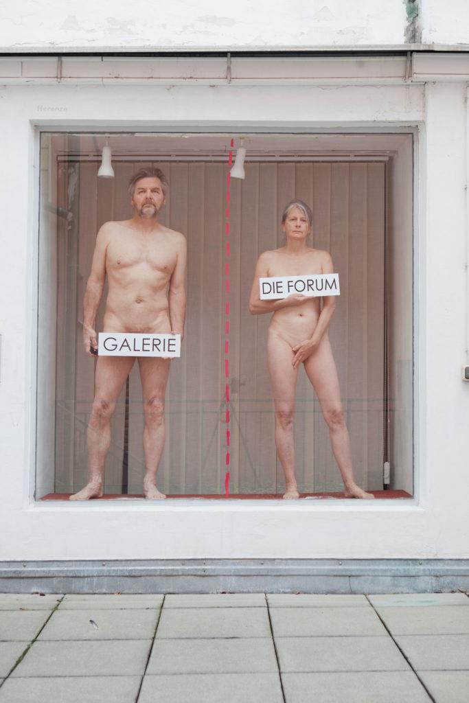 Werbeträger DIE FORUM Gemeinschaftsprojekt Gerhard Brandl und Renate Billensteiner