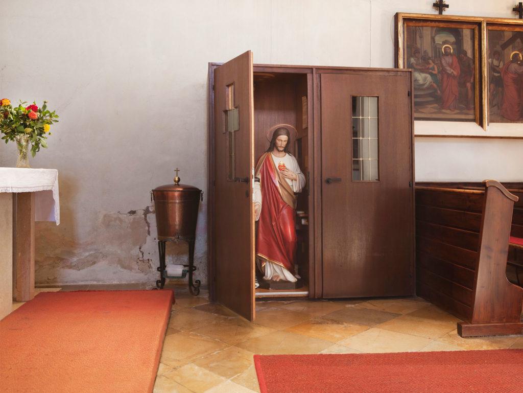 sub rosa Beichtstuhl St. Peter in der Au Renate Billensteiner