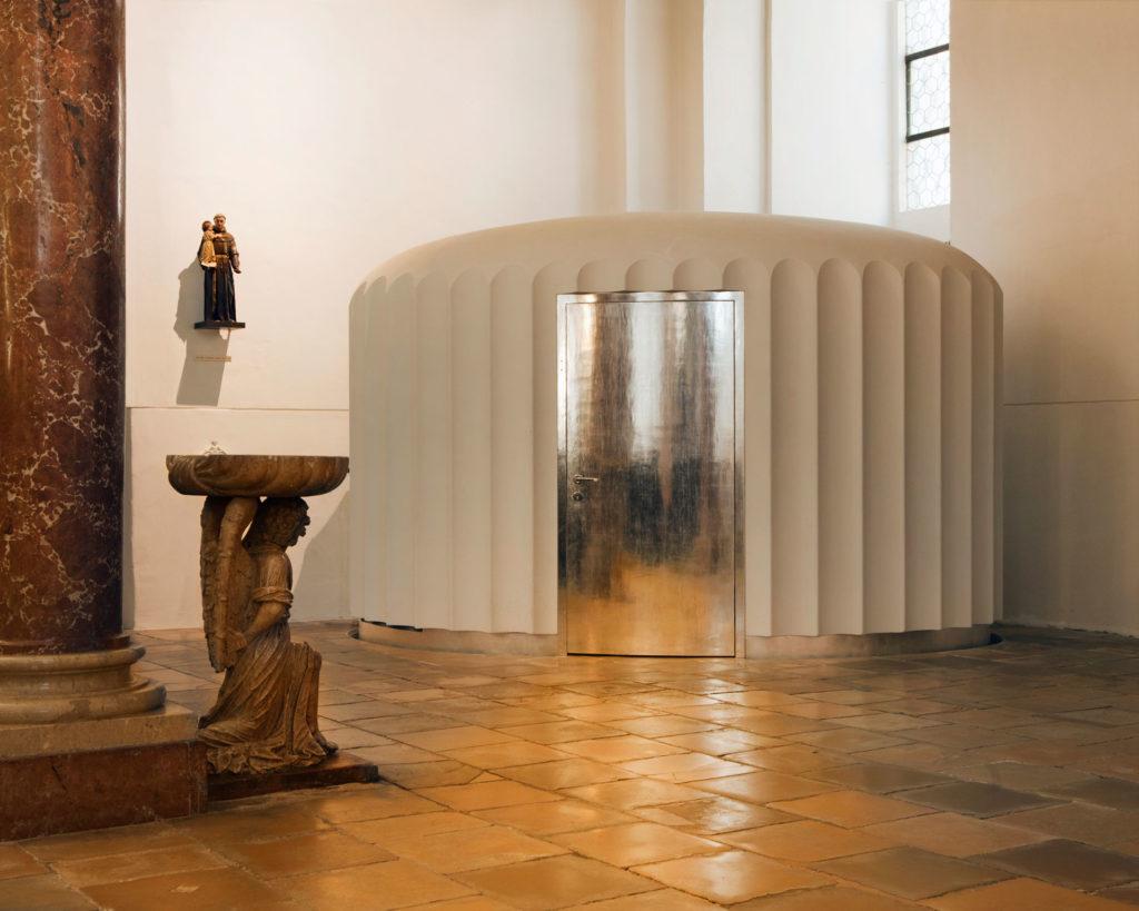 Serie sub rosa Beichtstuhl Linz St. Ignatius alter Dom Renate Billensteiner