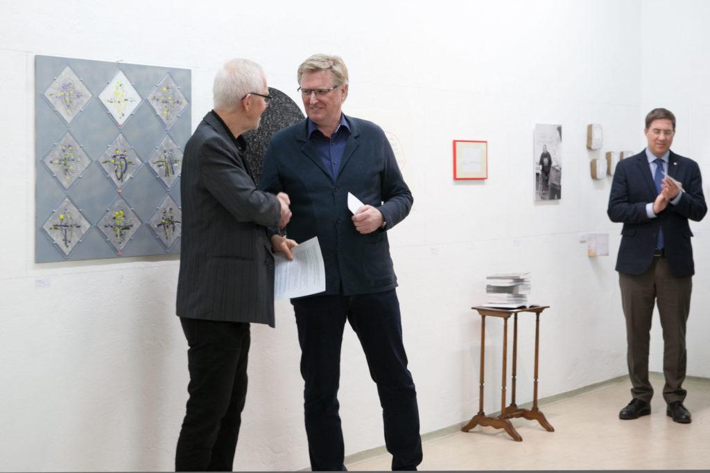 Ausstellungsansicht DIE FORUM Werbeträger Gemeinschaftsprojekt Gerhard Brandl und Renate Billensteiner Bild 04