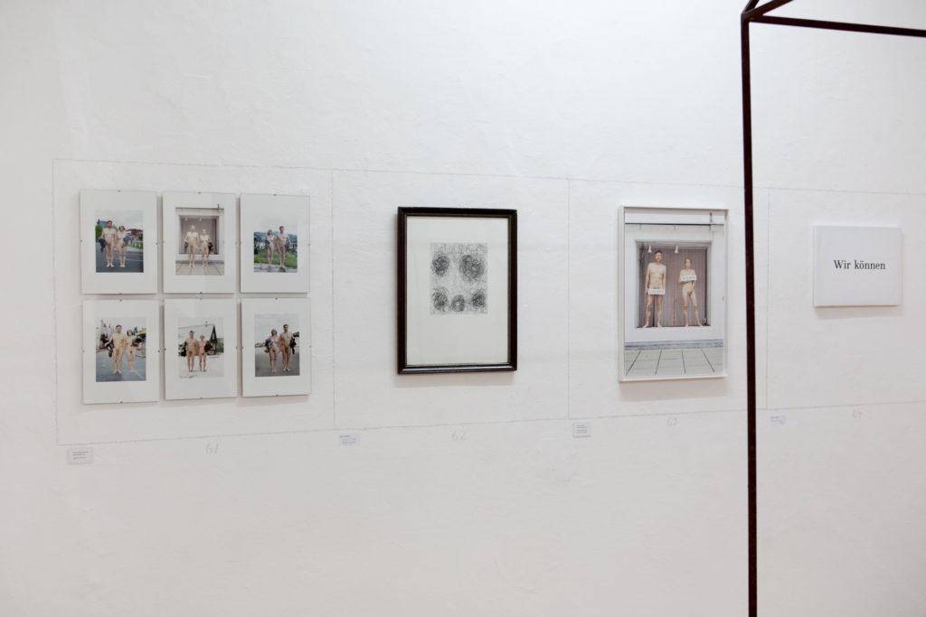 Ausstellungsansicht DIE FORUM Werbeträger Gemeinschaftsprojekt Gerhard Brandl und Renate Billensteiner Bild 07