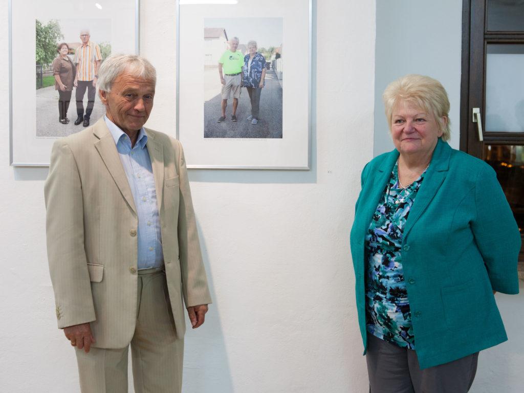 Ausstellung Herr und Frau Bruckner Fotoarbeit von Renate Billensteiner