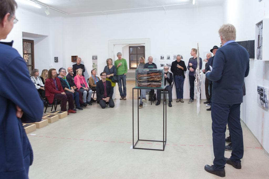 Ausstellung Maximilian aus dem gedachtnis Gemeinschaftsprojekt Gerhard Brandl und Renate Billensteiner 3