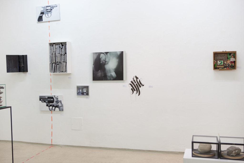 Ausstellung Maximilian aus dem gedachtnis Serie re use von Renate Billensteiner 7