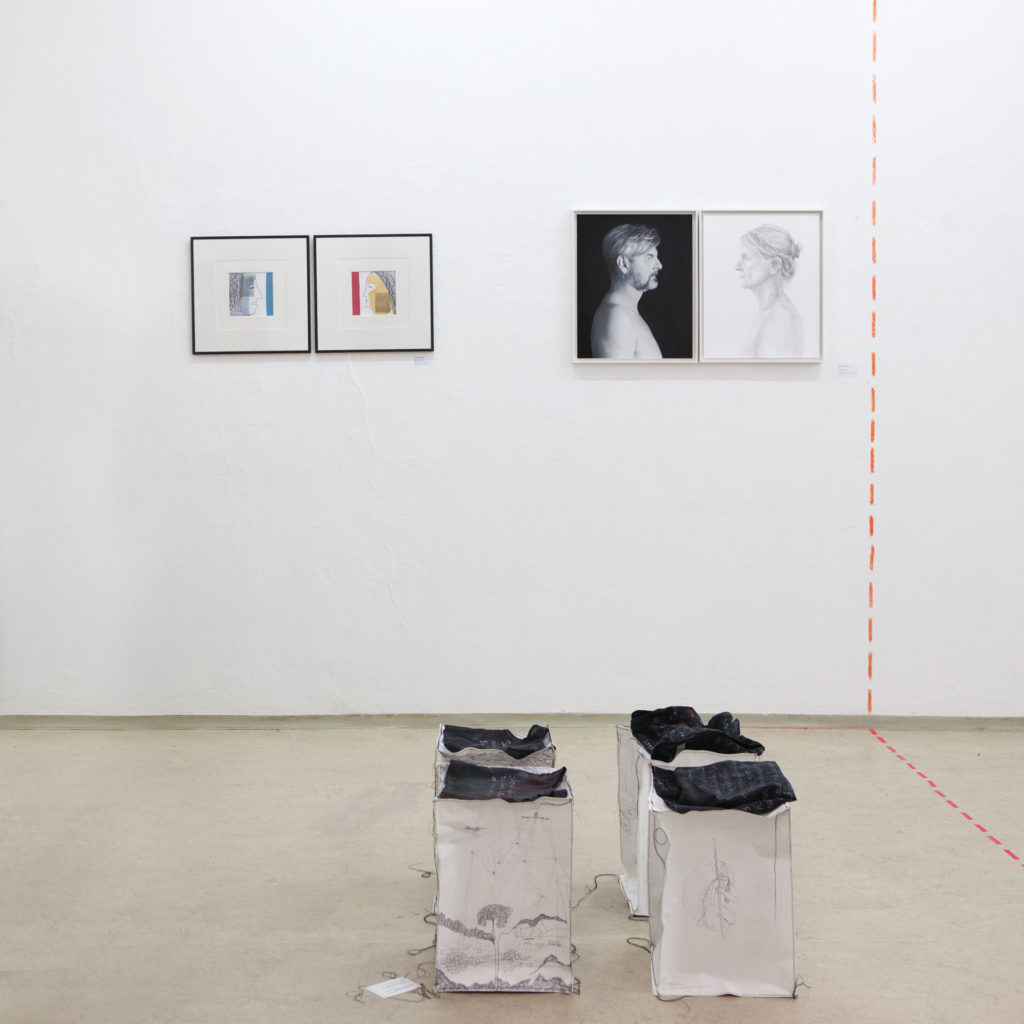 Ausstellung im gedächtnis Gemeinschaftsprojekt Gerhard Brandl und Renate Billensteiner 04
