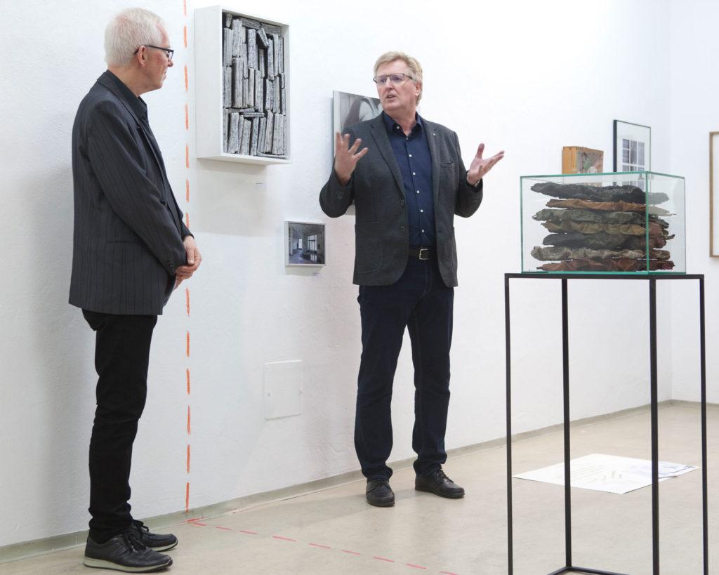 Ausstellung im gedächtnis Gemeinschaftsprojekt Gerhard Brandl und Renate Billensteiner 06