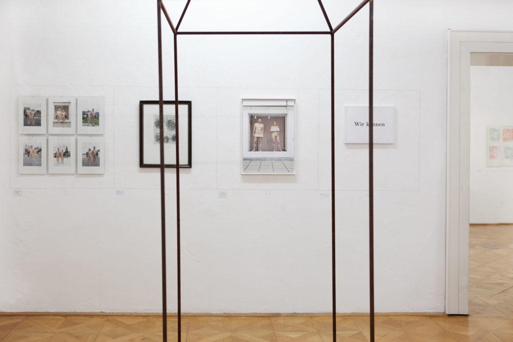 Ausstellungsansicht DIE FORUM Werbeträger Gemeinschaftsprojekt Gerhard Brandl und Renate Billensteiner Bild 01