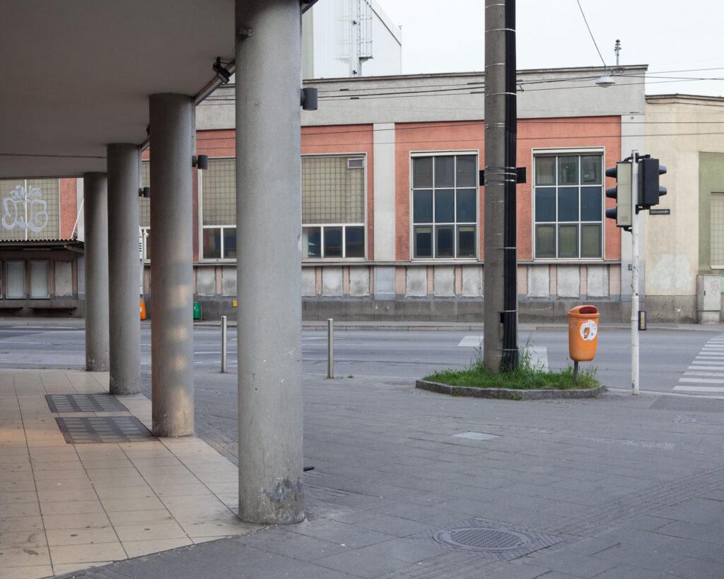 Serie Zeitfragment Unionkreuzung Linz Renate Billensteiner