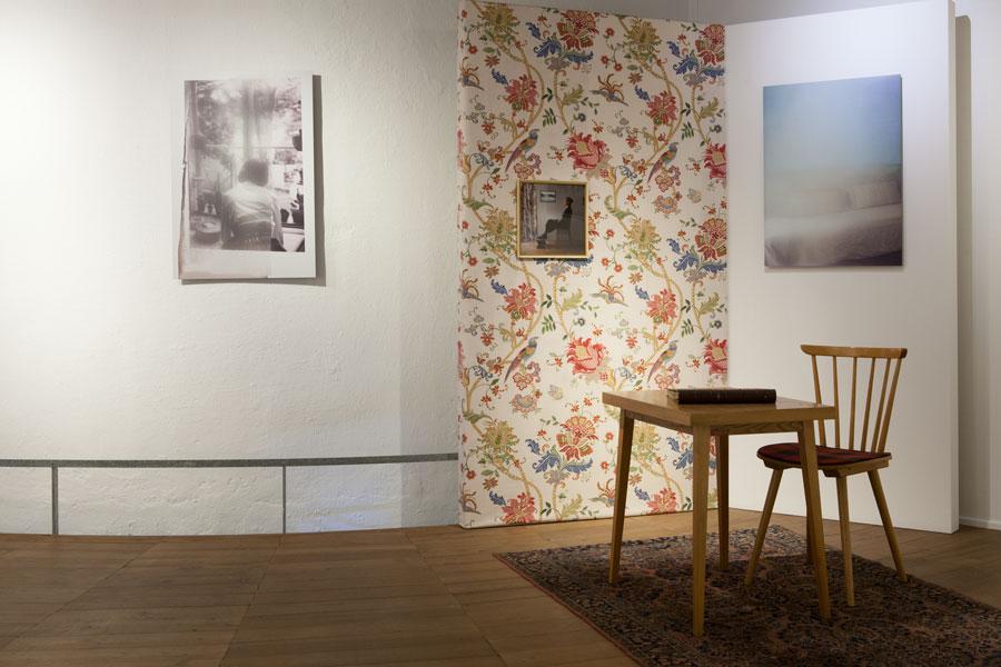Ausstellungsansicht just homely Renate Billensteiner Stadtmuseum Leonding